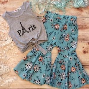 Boutique Trendy 2pc Outfit